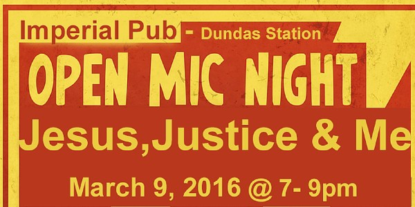 Open Mic Night - march 9!