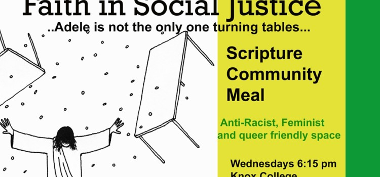 Join our Weekly Social Justice Bible Studies!