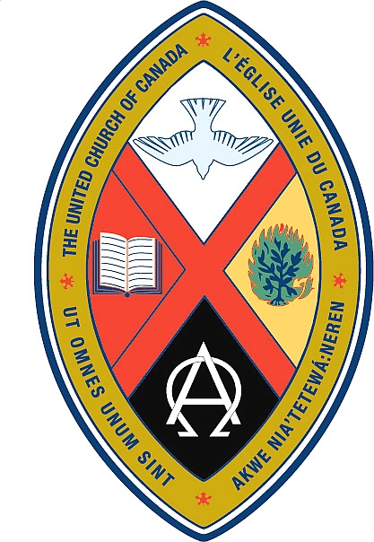 The crest of the United Church of Canada