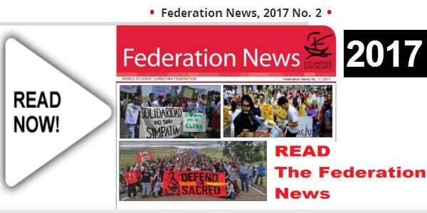 World Student Christian Federation update